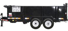eleven yard dump trailer